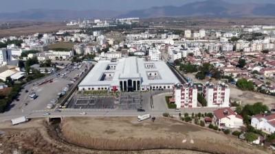 rontgen - Lefkoşa Acil Durum Hastanesi, havadan görüntülendi