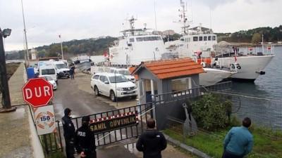 SİNOP - Sinop'tan Romanya'ya gitmek isteyen sığınmacılar teknede yakalandı (2)