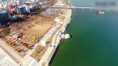 trafik sorunu -  - Drone taksi Güney Kore'nin başkenti Seul'da ilk uçuşunu gerçekleşirdi