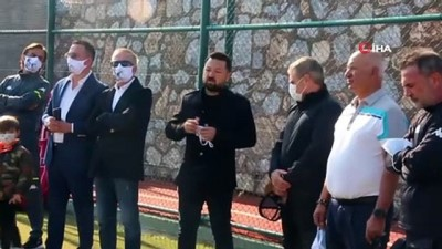 amator lig - Ersun Yanal, Bodrumspor'u Ziyaret Etti