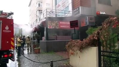 - Ataşehir'de restoranda korkutan yangın