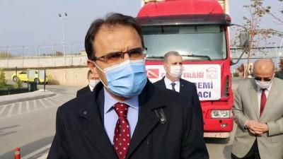 ÇANKIRI - İzmir'deki depremzedelere yardım