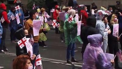 - Gürcistan'da Pompeo'nun ziyareti sırasında hükumet karşıtı protesto