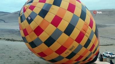 yayla turizmi -  Karadeniz yaylalarında 'balon' turizmi: İlk deneme uçuşu yapıldı