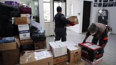 deprem bolgesi - MUĞLA - İzmir'deki depremzedelere yardım