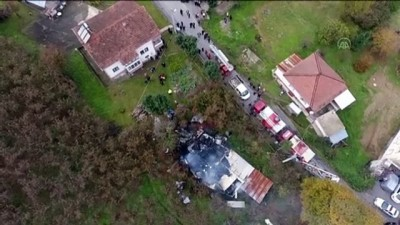 cumhuriyet - DÜZCE - Evde çıkan yangında bir kişi öldü