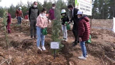 orman yangini - KAHRAMANMARAŞ - Yanan ormanlık alan çocukların eliyle yeşerecek