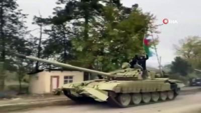 - Azerbaycan ordusu 27 sene sonra Ağdam'da - Ermenistan Ağdam'ı boşalttı