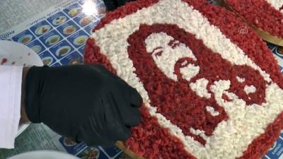 portre - MARDİN - Mardinli aşçı et ve kuyruk yağından portre yapıyor