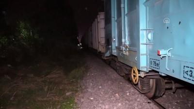 yuk treni - ADANA - Yük treninin çarptığı kişi ağır yaralandı