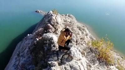 deprem bolgesi - AĞRI - Suriyeli genç, ailesine kucak açan Türkiye'ye teşekkür için yardımdan yardıma koşuyor