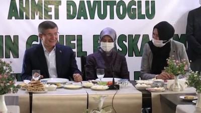 BİTLİS - Gelecek Partisi Genel Başkanı Ahmet Davutoğlu, Bitlis'te