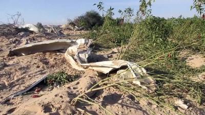 İsrail ordusunun Gazze'ye yönelik hava saldırısı