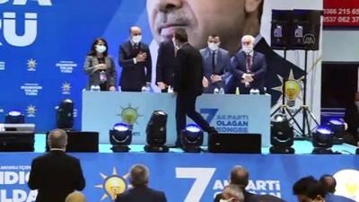 KASTAMONU - AK Parti Genel Başkan Yardımcısı Dağ, partisinin il kongresinde konuştu