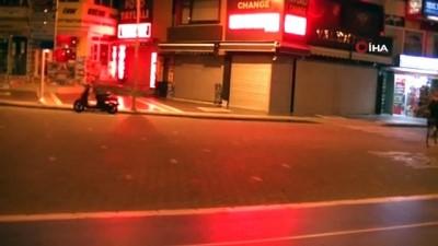 dar sokaklar -  Marmaris'te kısıtlama kurallarına uyuluyor