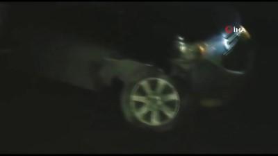 arac plakasi -  Çalıntı otomobille otodan hırsızlık yapan zanlılar kovalamaca sonucu yakalandı