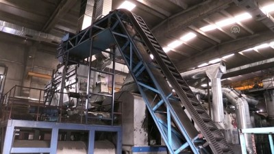 teknoloji - ERZİNCAN - Geri dönüştürülen atık araç lastikleri ekonomiye 'enerji' veriyor (2)