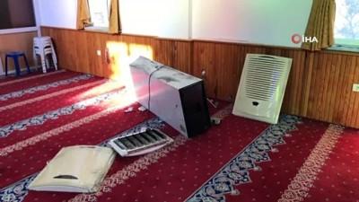 bilirkisi -  Heyelan nedeniyle ibadete kapatılan camiyi hırsızlar talan etti