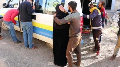 saldiri - İDLİB - Esed rejiminin saldırısında 1 sivil öldü