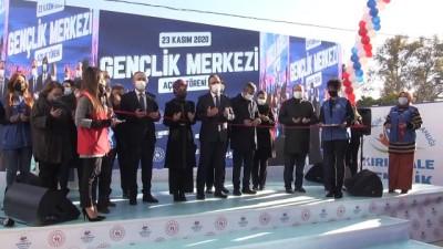 allah - KIRIKKALE - Bakan Kasapoğlu, Gençlik Merkezi'nin açılışına katıldı