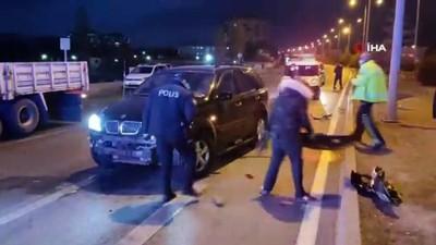 ilk mudahale -  Sungurlu'da kaza: 1 yaralı
