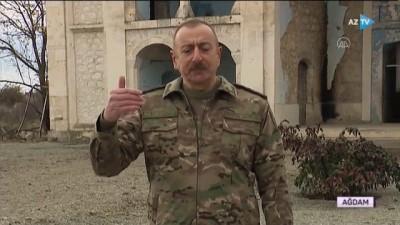 AĞDAM - Azerbaycan Cumhurbaşkanı İlham Aliyev, Batılı liderlere seslendi