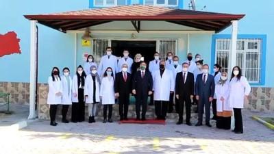 AKSARAY - Lösemi tedavisi gören Gülgün öğretmene Vali Aydoğdu'dan moral telefonu