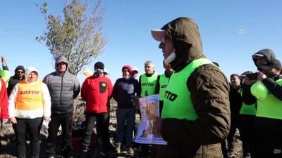 DİYARBAKIR - 'Karacadağ Lav Yolu Mağara Oryantiring Yarışması' düzenlendi