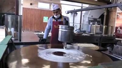 HATAY - Hatay künefesinde kullanılan tuzsuz peynir Orta Doğu ülkelerine ihraç ediliyor