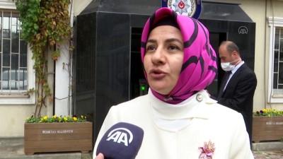 İSTANBUL - Kadın muhtarlar, İstanbul polisini ziyaret etti