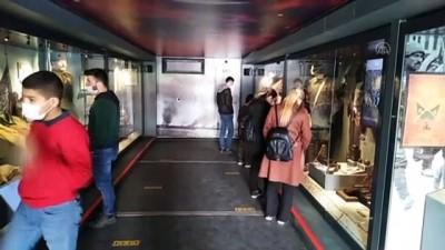 KİLİS - Çanakkale Savaşları Mobil Müzesi, ziyaretçilere kapılarını açtı