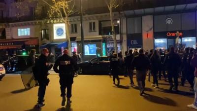 PARİS - Polis, kamplarını dağıttığı sığınmacıları sokak sokak kovaladı