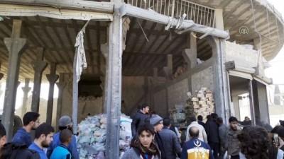 saldiri - Suriye'nin kuzeyindeki Bab'da bombalı terör saldırısı