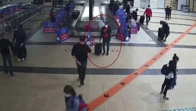 trol - Antalya Havalimanı'nda cevizin içinde uyuşturucu ele geçirildi