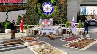irak - İSTANBUL - 658 parça tarihi eser ele geçirildi