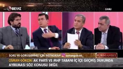 surmanset - Osman Gökçek açık açık sordu: İmamoğlu HDP'yi mi tercih eder? İYİ Parti'yi mi?