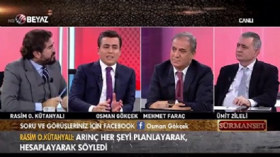 surmanset - Osman Gökçek: 'Bülent Arınç, Cumhurbaşkanımızın açıklamalarına bomba koyan birisi!'