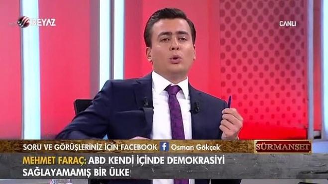 beyaz tv - Osman Gökçek: 'Yüreğinde vatan sevgisi olan Ünal Çeviköz gibi konuşmaz!'