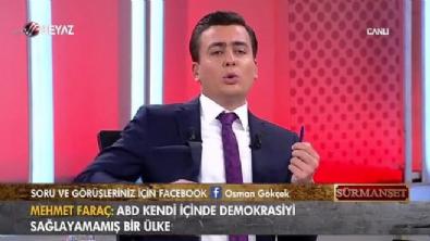 surmanset - Osman Gökçek: 'Yüreğinde vatan sevgisi olan Ünal Çeviköz gibi konuşmaz!'