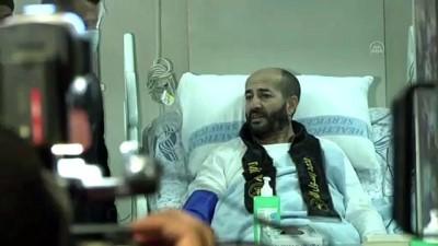 irak - Açlık grevinin 103'üncü gününde İsrail'e geri adım attıran Filistinli tutuklu Ahres, özgürlüğüne kavuştu