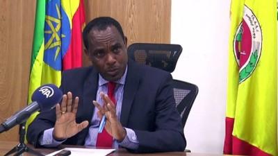 ADDİS ABABA - Etiyopya Savunma Bakanı Yadeta AA'ya konuştu: 'TPLF'nin amacı iç savaş çıkarmaktı'
