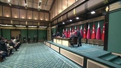 demirli - ANKARA - Türkiye ve Katar arasında 10 anlaşma imzalandı (2)