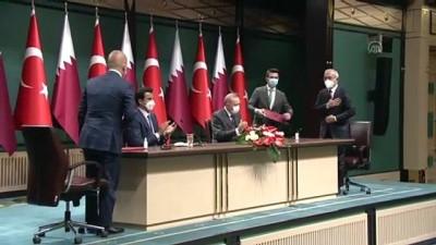 demirli - ANKARA - Türkiye ve Katar arasında 10 anlaşma imzalandı (3)