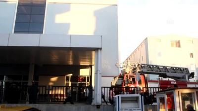 hastane - ANTALYA - Hastanenin çatı katında çıkan yangın büyümeden söndürüldü