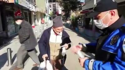 trol - DÜZCE - Kovid-19 tedbirleri meydan ve işlek caddelerde sıkılaştırıldı