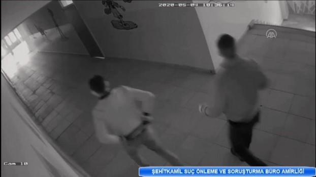 kamera - GAZİANTEP - Kamu binalarından hırsızlık yapan iki zanlı tutuklandı