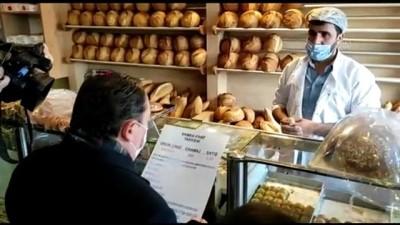 bild - İSTANBUL - Eyüpsultan'da fırınlarda gramaj ve fiyatlar denetlendi