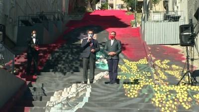 ogrenciler - İSTANBUL - 'Mimozalı Kadın' eserinin resmedildiği merdiven kullanıma açıldı
