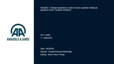harekete gec - KOCAELİ - 200 bin liralık ziynet eşyası çaldıkları iddiasıyla yakalanan 2 şüpheli tutuklandı