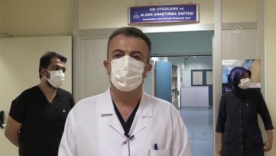 semptom - MALATYA - Çin'den getirilen Kovid-19 aşısı için Malatya'dan 150 gönüllü başvurdu